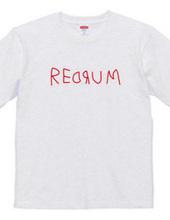REDRUM レッドラムロゴ