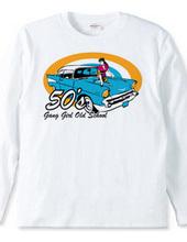 50 s Gang Girl