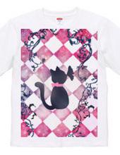 猫とピンク