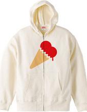 ハートアイスクリーム