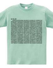 円周率π 3.14 (1000桁Version)