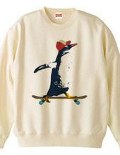 Penguin riding
