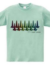 13 rode cones