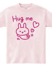 Hug me ウサギ(ピンク)