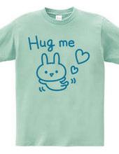 Hug me ウサギ(水色)