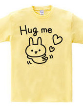 Hug me ウサギ