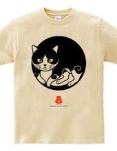 創作猫紋その二 睨み猫