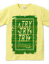 TRY TRY TRY 緑バージョン