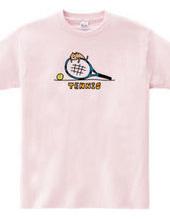 テニス 子ネコとラケット