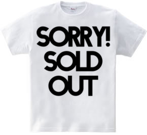 Sorry! Sold Out