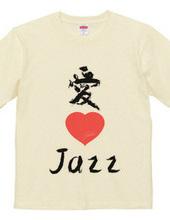 Love 4 music T-shirts Jazz version