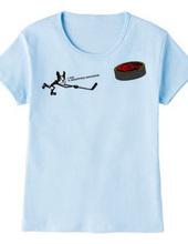 アイスホッケー ボストンテリア Tシャツ
