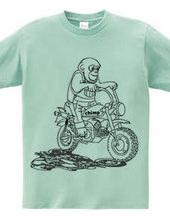 チンパンジーバイク