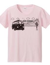 サーフトリップ ボストンテリア Tシャツ