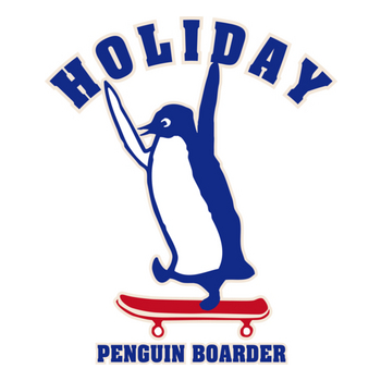 HOLIDAY PENGUIN BOARDER-1