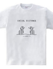 Social Distance ソーシャルディスタンス 魚イラスト