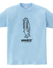 Amabie アマビエ?ワカメペンギン 動物イラスト