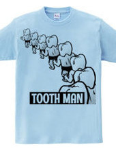 Tooth man even intervals