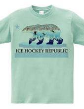 アイスホッケー Ice Hockey Republic Tシャツ