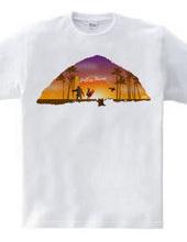 サーフィン エンドレス ハワイ Tシャツ