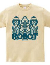 ロボット(青)