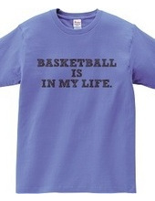 BASKETBALL IS IN MY LIFE.