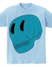 SKULL FACE BLUE
