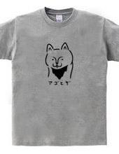 アゴヒゲ猫 イラスト
