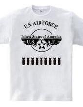 オールステンシル USエアフォース 4