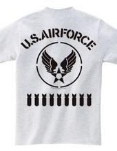 オールステンシル USエアフォース 2(バックプリント)(U.S. Air Force)