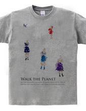 Cat walk the planet.
