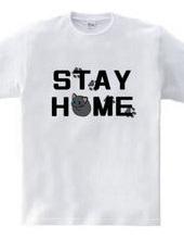 STAY HOME 猫(ロシアンブルー)