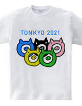 とんきょーおりんぴっぐ 公式Tシャツ