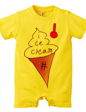 ice cream。