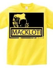 MACKLOTI ロゴTシャツ
