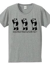 こんにちはパンダ