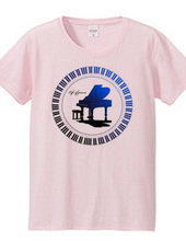 Life of piano/グランドピアノ青
