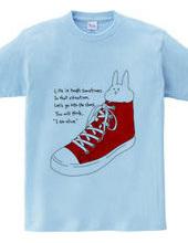 うさぎと靴