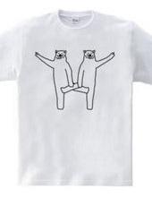 クマの組体操 #1