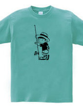 釣りに行きたい少年