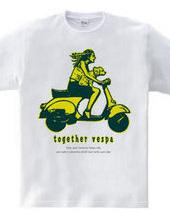 together vespa