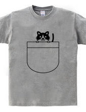 ポケットの中の猫