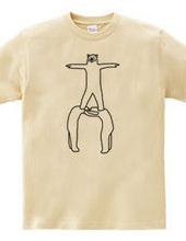 クマの組体操 #3