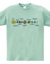 うさぎと太陽系