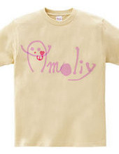 amoliy 薄ピンク