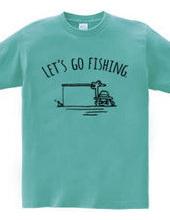 ユニークな釣り人