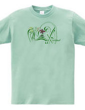 花の女神Tシャツ