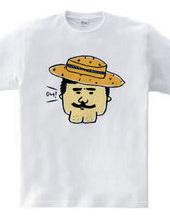 カンカン帽子オジサン