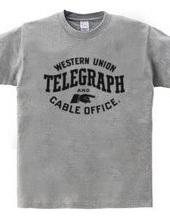 WesternUnion Vintage Sign_BLK