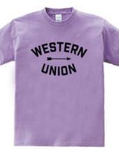 Western Union_Arrow Sign_BLK